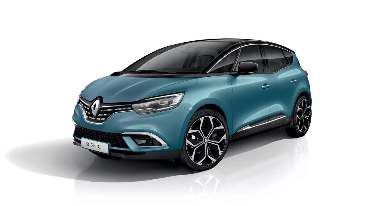 Renault Scénic Bleu Mulhouse